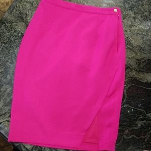 THE LIMITED FUSCHIA SKIRT